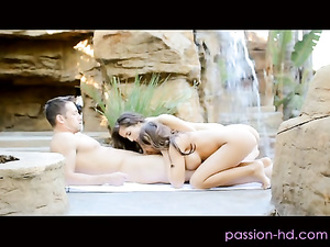 Man joins Madison Ivy and April O'Neil sex session