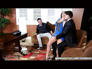 Busty milf Jenna Presley convulses on the cock